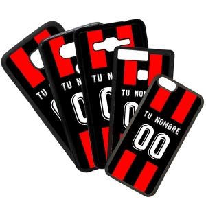 Funda de Movil Carcasa de Moviles Fundas Carcasas de TPU Compatible con el móvil Huawei P8 Lite 2017 Modelo Camiseta de Fútbol Reus Con El Nombre y Numero Que Quieras