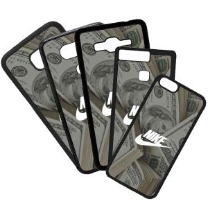 Carcasas De Móviles Funda De Móvil De TPU Compatible Con El Móvil Huawei P8 Lite 2017 Modelo Nike Dólar Dinero Marcas Moda Deportes Símbolos