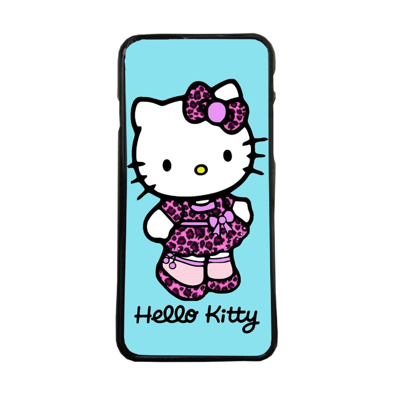 ea4c33dffeb Fundas De Móviles Carcasas De Móvil De TPU Hello Kitty Vestida Leopardo  Dibujos Juguetes