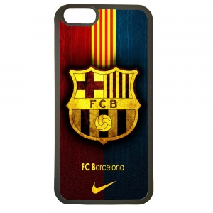Carcasas de movil fundas de tpu compatible con iphone 7 barcelona futbol escudo