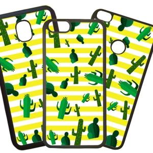 Fundas De Móviles Carcasas De Móvil De TPU Cactus Palmeras