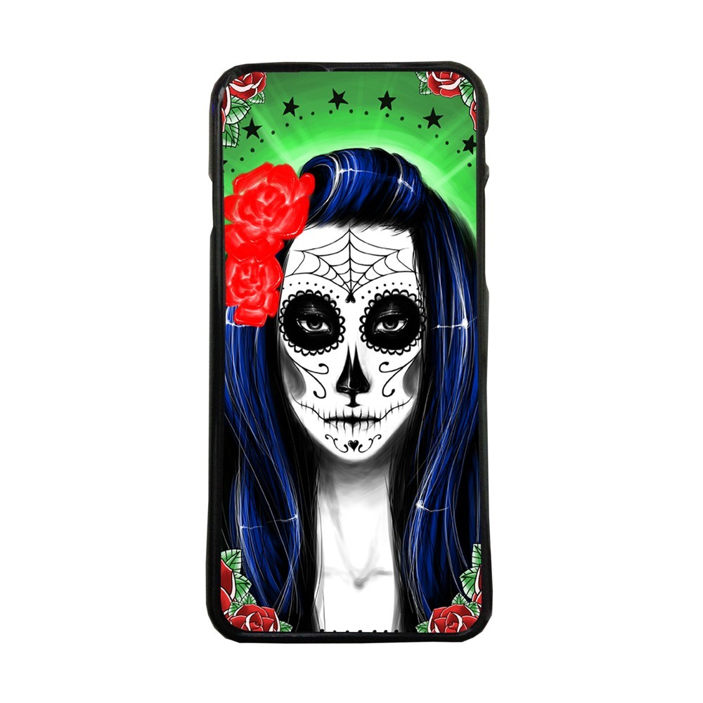 Carcasas de movil fundas de moviles de TPU compatible con Samsung Galaxy A5 2017 Catrina Mexico muñeca