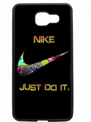 carcasas fundas movil tpu compatible con samsung galaxy a5 2016 nike negra