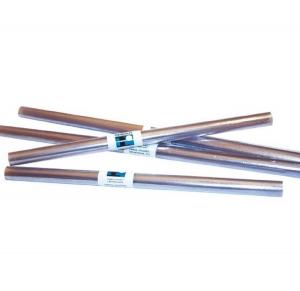 1 Rollo ForraLibros Forro Flexible Uso Escolar 035X2 Transparente Forrar Libros