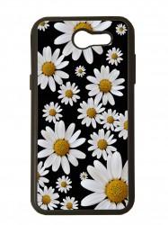 carcasa para móvil compatible con samsung galaxy j7 prime 2017 margaritas flores