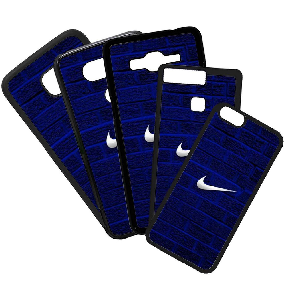 Fundas De Móviles Carcasas De Móvil De TPU Modelo Nike Azul Marcas