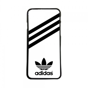 Funda de movil carcasas de moviles compatible con iphone x adidas blanco negro