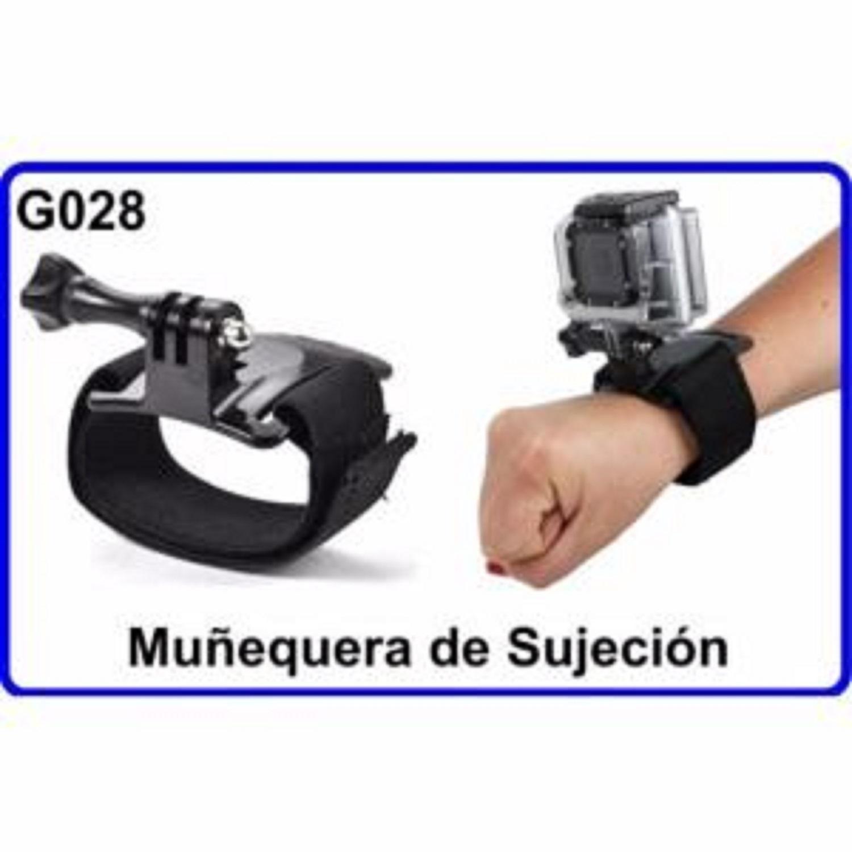 Muñequera de Sujeción para Camara Deportiva Compatible Con GoPro HERO 1 2 3  HD