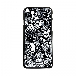 Carcasas de moviles funda de movil tpu compatible con iphone 7 stickers marcas