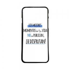 Funda de movil de carcasas compatible con Huawei P8 Lite 2017 frases graciosas