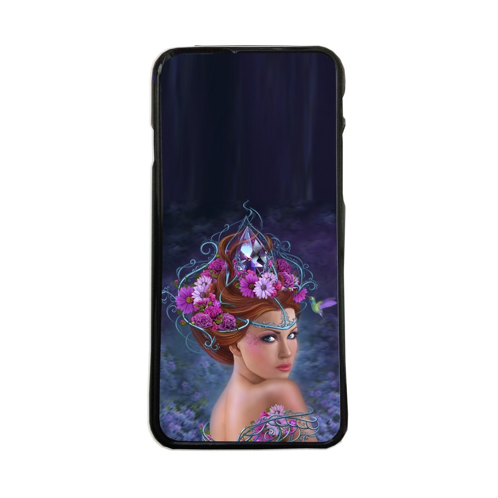 Carcasas de movil funda compatible con Samsung Galaxy A8 reina dibujos