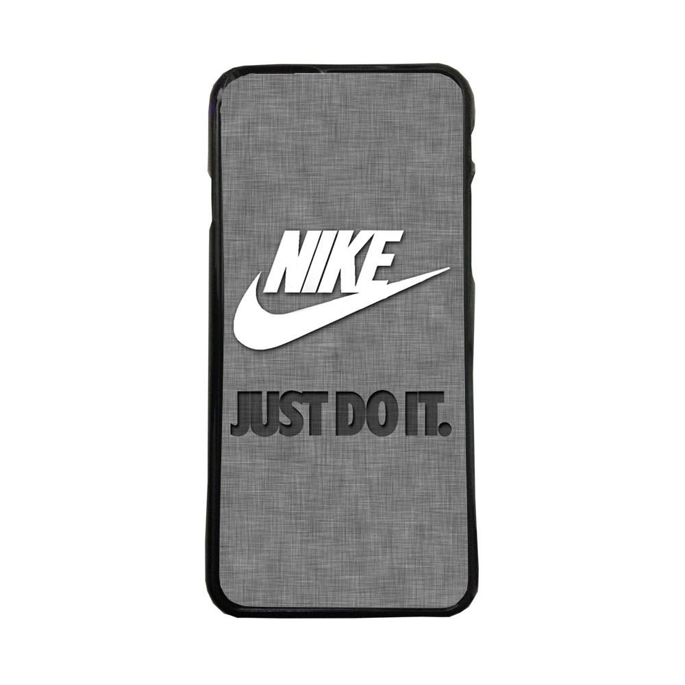 Fundas De Móviles Carcasas De Móvil De TPU  Nike Fondo  Gris Just Do It  Moda Marca