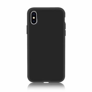 Funda Carcasa Case Iphone Silicona Flexible Ultra Fina Tpu Suave Compatible con iphone 5/5S Negro