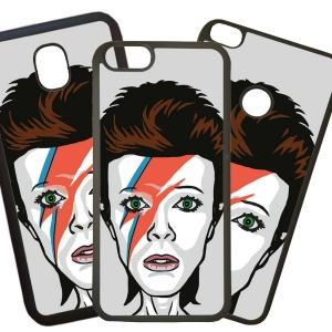 Fundas De Móviles Carcasas De Móvil De TPU Modelo David Bowie Caricatura Dibujo