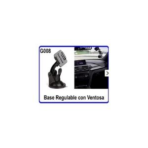 Base Regulable con Ventosa para Cámara Deportiva Cristal Coche Moda Soporte