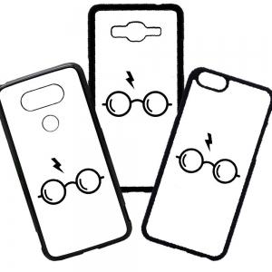 Fundas De Móviles Carcasas De Móvil De TPU Harry Potter Gafas Cicatriz Hogwarts Magia Gryffindor