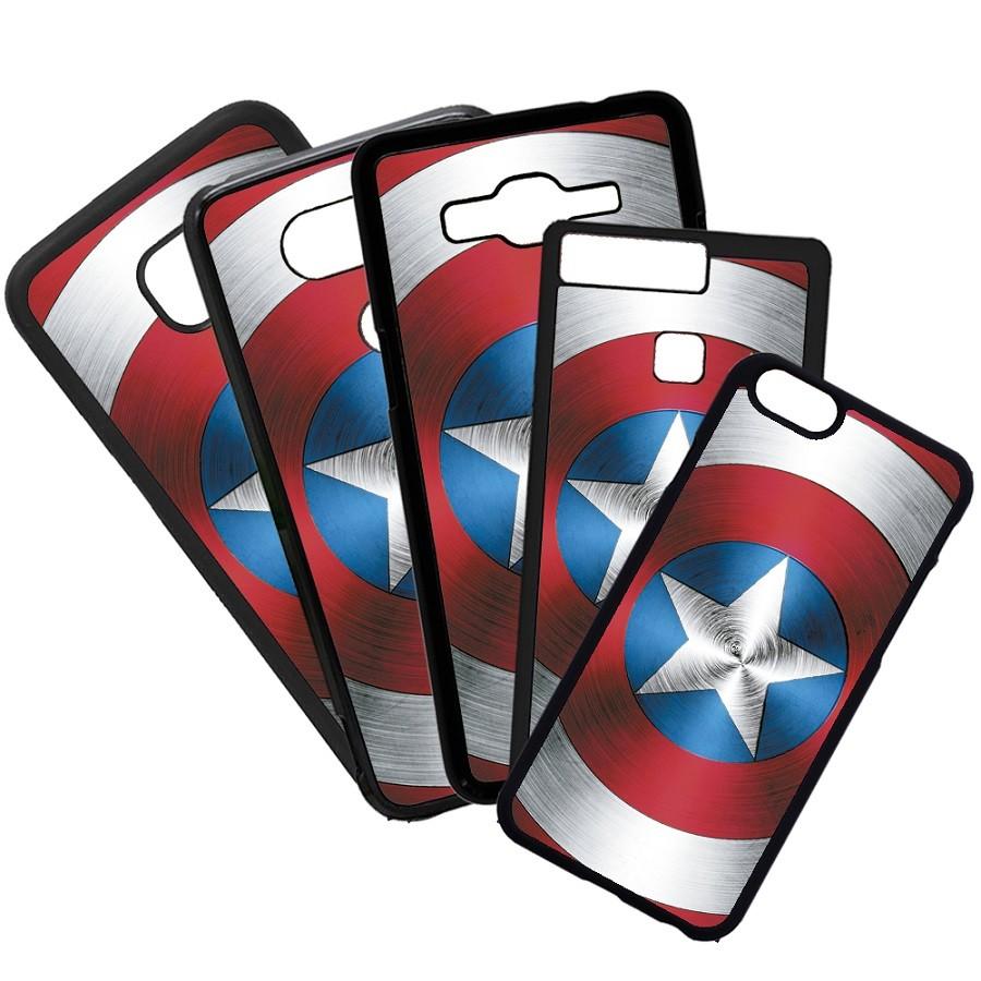 Fundas De Móviles Carcasas De Móvil De TPU Escudo Capitán América Moda Marvel