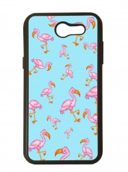 Funda carcasas móvil flamencos compatible con movil Samsung Grand Prime
