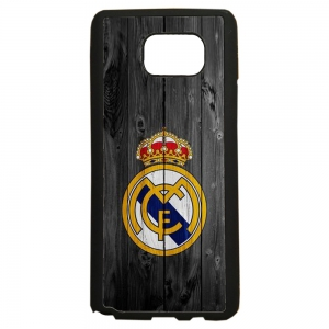 carcasas de movil fundas tpu compatible con samsung galaxy note 5 real madrid