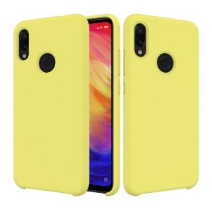 Funda Carcasa Case Xiaomi Silicona Flexible Ultra Fina Tpu Suave Compatible con Xiaomi Redmi  5 Plus Amarillo
