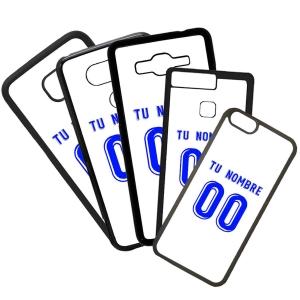 Funda de Movil Carcasa de Moviles Fundas Carcasas de TPU Compatible con el móvil Huawei P8 Lite 2017 Modelo Camiseta de Fútbol Tenerife Con El Nombre y Numero Que Quieras