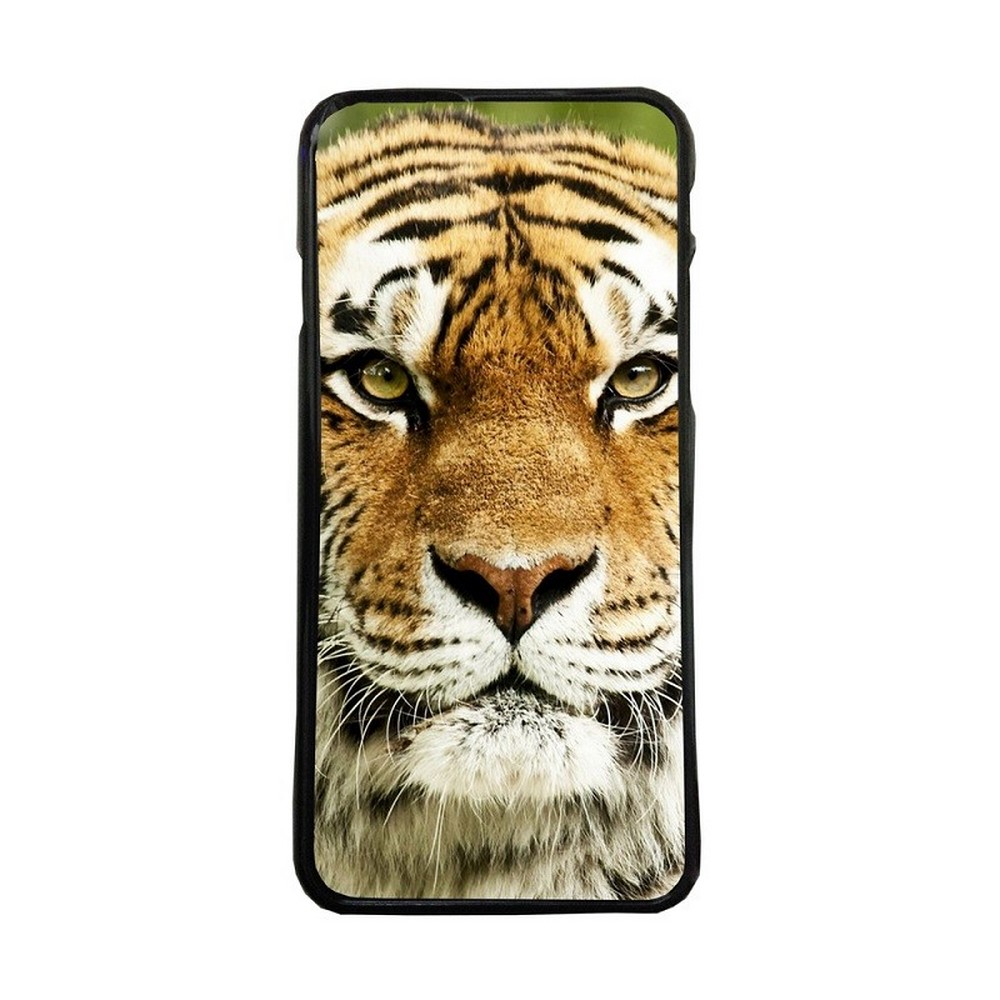 Carcasas de movil fundas de moviles de TPU compatible con Samsung Galaxy S6 Edge Plus tigre animales naturaleza