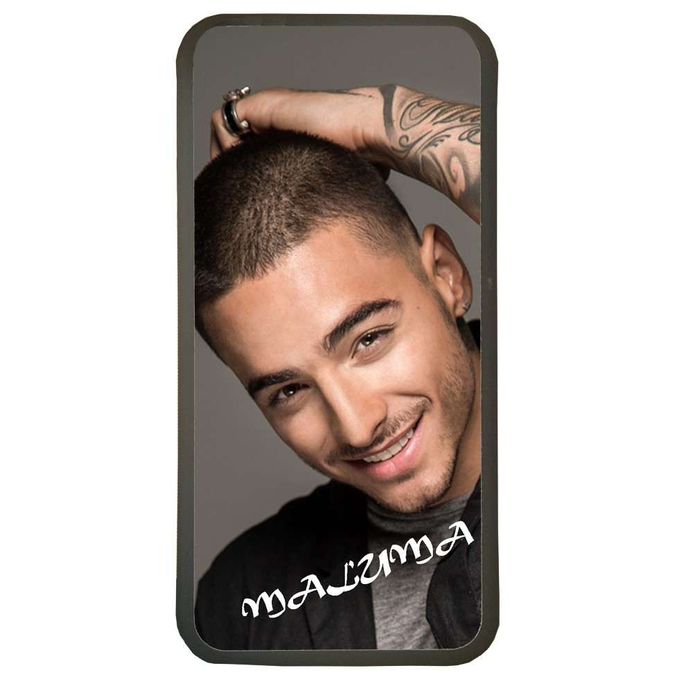 Carcasas de movil fundas de moviles de TPU compatible con Iphone 5 5s maluma musica