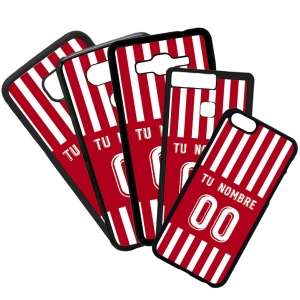 Fundas De Móviles Carcasas De Móvil De TPU Sporting De Gijon Camiseta Equipación Personalizada