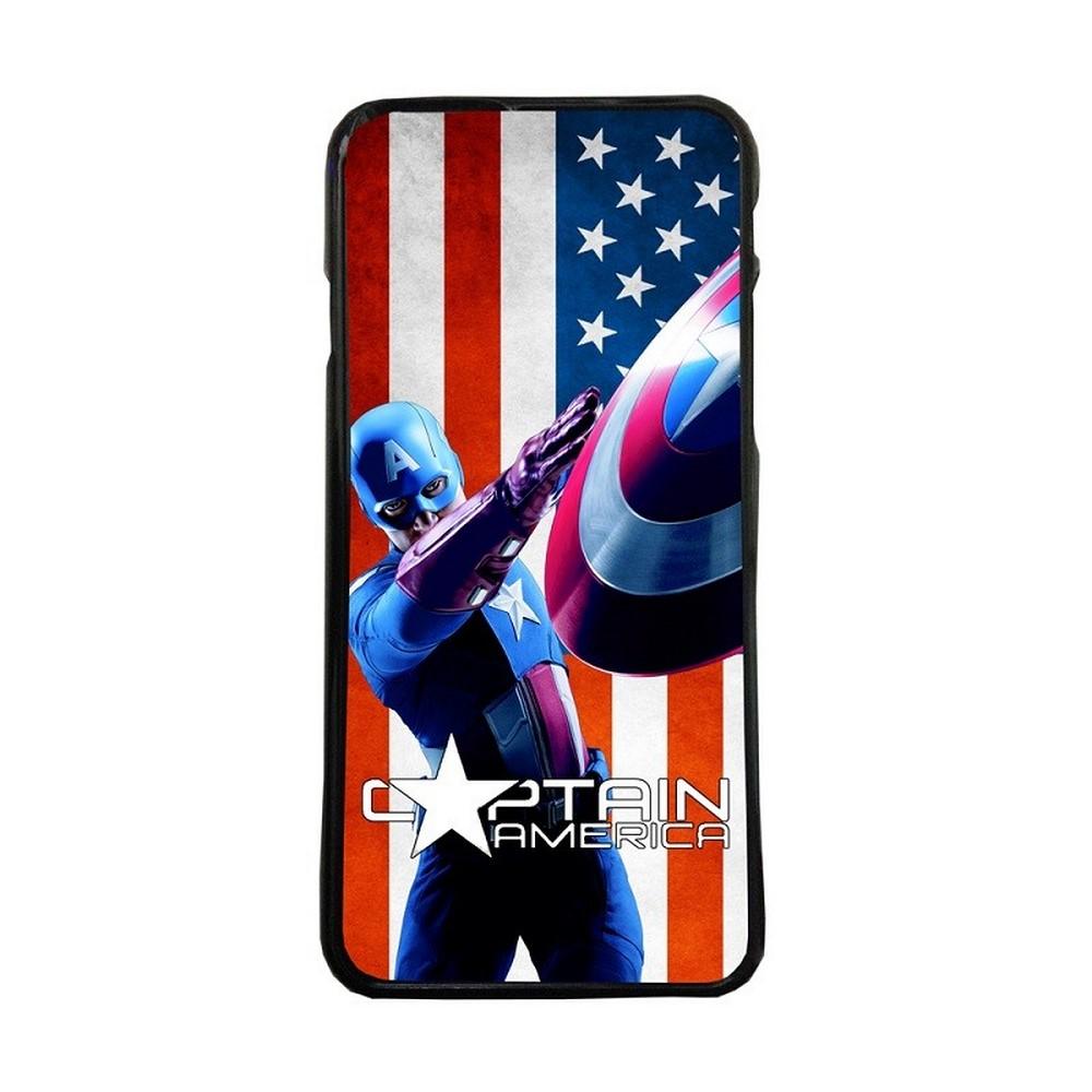 Fundas movil carcasas compatible con sony xperia x modelo Capitán America