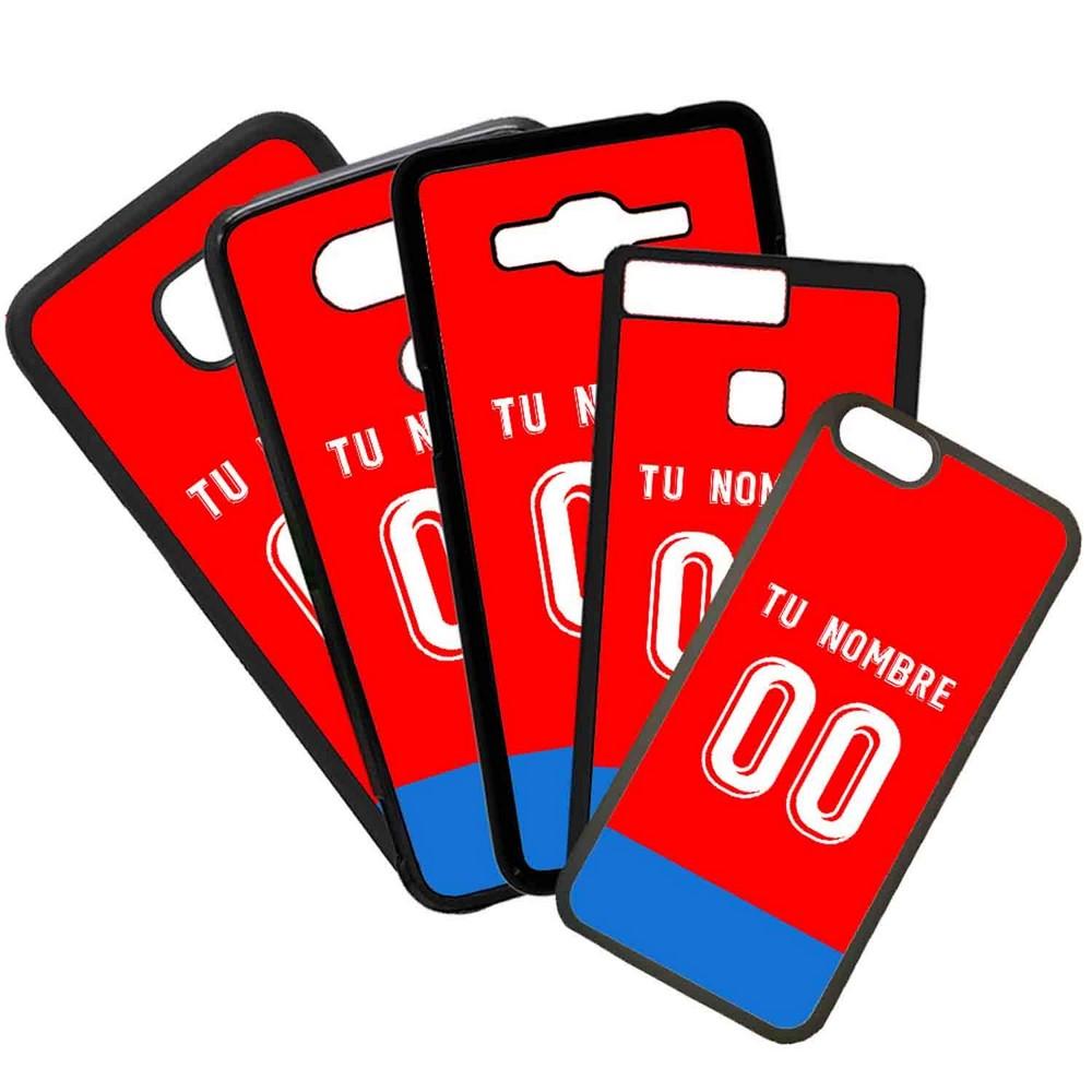 Funda de Movil Carcasa de Moviles Fundas Carcasas de TPU Compatible con el movil Huawei P20 Lite Modelo Camiseta de Fútbol Numancia Con El Nombre y Numero Que Quieras