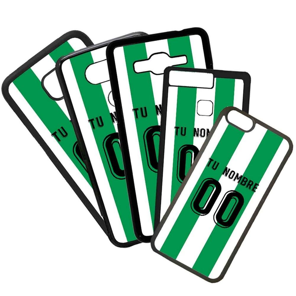 Funda de Movil Carcasa de Moviles Fundas Carcasas de TPU Compatible con el movil Huawei P20 Lite Modelo Camiseta de Futbol Cordoba Con El Nombre y Numero Que Quieras