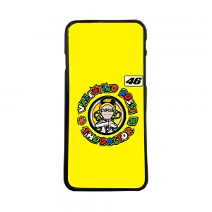 Funda de movil carcasas compatible con iphone 5 5s modelo valentino rossi motos