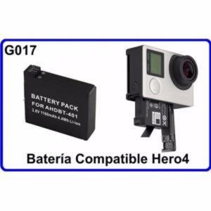 Bateria  Accesorios Para Camara Deportiva Compatible GoPro Hero4