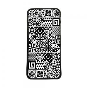 Carcasas de movil funda tpu compatible con huawei p8 lite 2017 baldosas dibujos