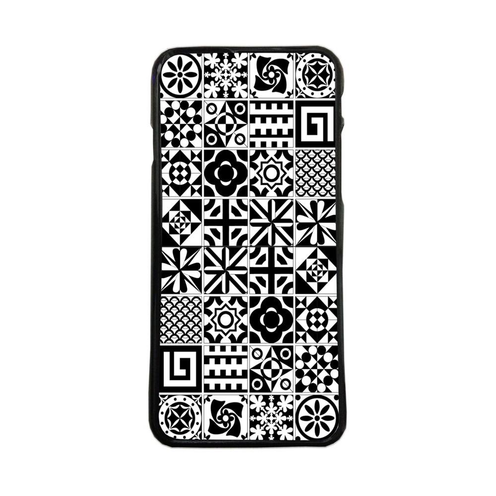 Carcasas de movil fundas de moviles de TPU compatible con Samsung Galaxy S8 Plus baldosas dibujos