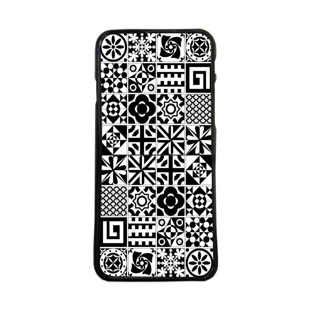 Carcasas de movil fundas de moviles de TPU compatible con Samsung Galaxy A5 2017 baldosas dibujos