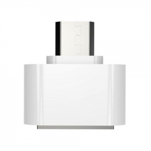 Adaptador Micro usb macho a 2.0 OTG Convertidor Para Android Tablet Movil Blanco