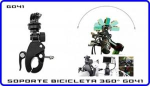 Soporte 360 Grados Tripode Manillar Bicicleta Compatible Con Camara Deportiva