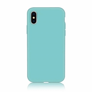 Funda Carcasa Case Iphone Silicona Flexible Ultra Fina Tpu Suave Compatible con iphone 5/5S Azul Claro