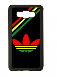 Funda carcasas móvil adidas africa compatible con movil Samsung Galaxy J3 2017
