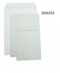 250 Sobres bolsas blancos 250x353 autoadhesivos folio envios