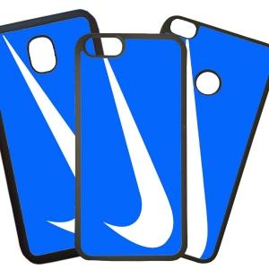 Fundas De Móviles Carcasas De Móvil De TPU Modelo Nike Azul Marcas Moda