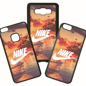 Fundas De Móviles Carcasas De Móvil De TPU  Nike Moda Playa Beach Marca