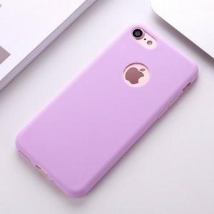 Funda Carcasa Case Iphone Silicona Flexible Ultra Fina Tpu Suave Compatible con iphone XS MAX LILA Agujero