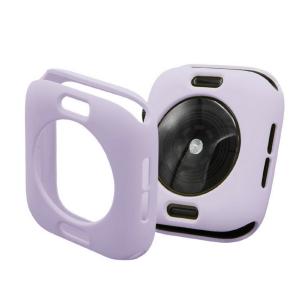 Protector Silicona Funda Compatible Con Apple Watch 38-40 MM Color Morado