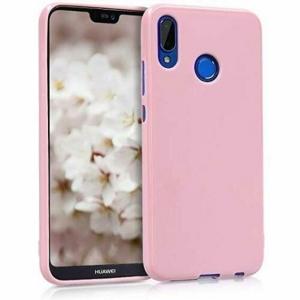 Funda Carcasa Case Huawei Silicona Flexible Ultra Fina Tpu Suave Compatible con Huawei  P30 Rosa
