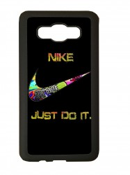 carcasas fundas movil tpu compatible con samsung galaxy grand prime nike negra