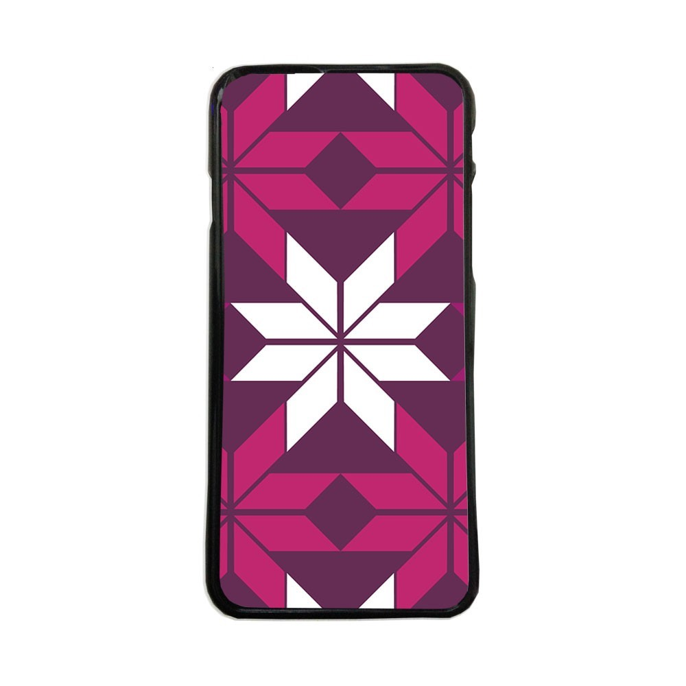 Carcasas de movil fundas de moviles de TPU compatible con Samsung Galaxy S6 purpura simbolos