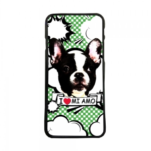 Carcasas de moviles fundas de móvil compatible con iphone X bulldog frances