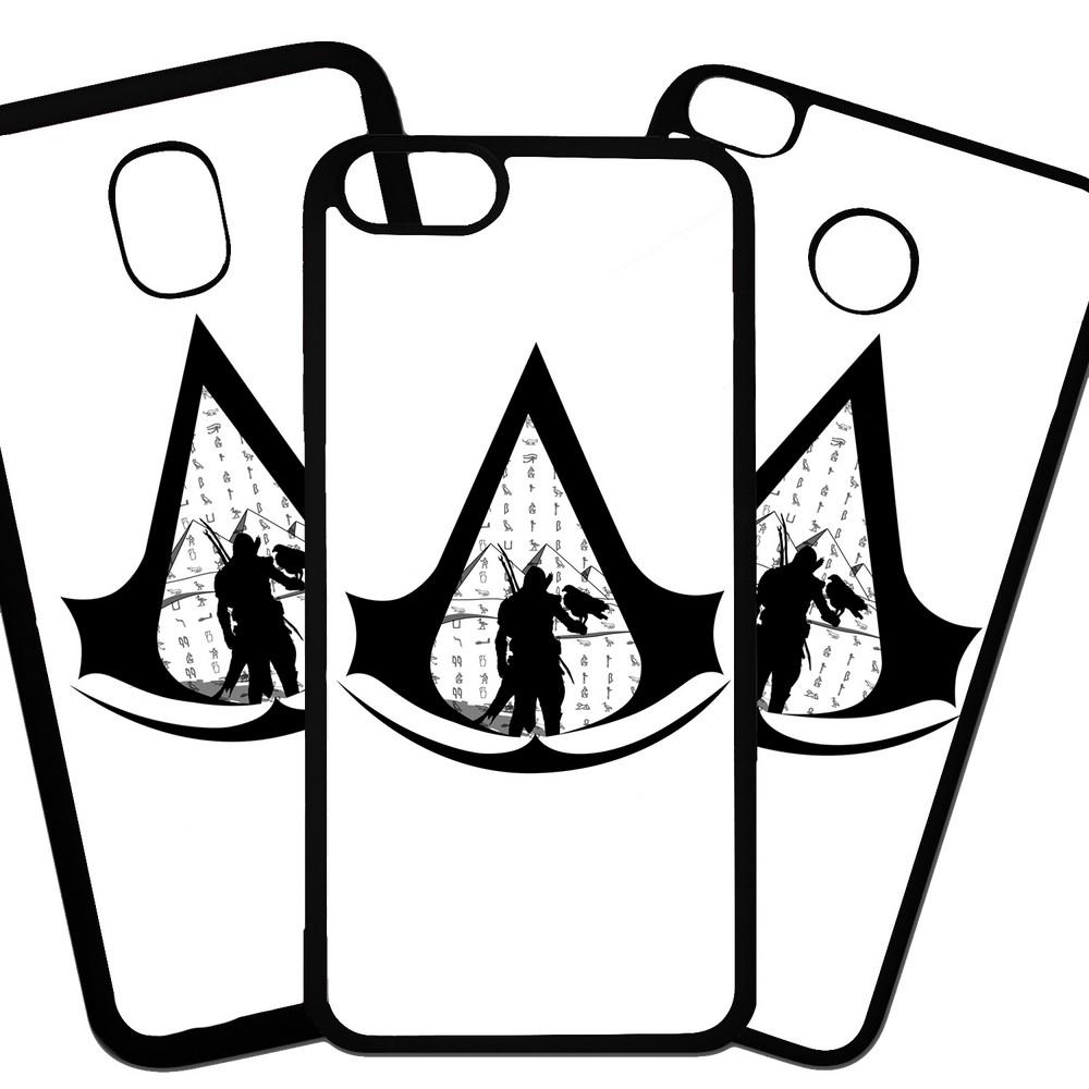 Carcasas De Móvil Fundas De Móviles De TPU Modelo videojuego de clan de asesinos